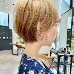 ショート ベリーショート ナチュラル ミニボブ ヘアスタイルや髪型の写真・画像