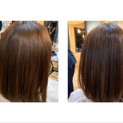 髪質改善 最新トリートメント ナチュラル oggiotto ヘアスタイルや髪型の写真・画像
