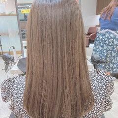 ナチュラル オリーブグレージュ オリーブカラー オリーブアッシュ ヘアスタイルや髪型の写真・画像
