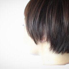 ショート ボブ 田中美保 大人女子 ヘアスタイルや髪型の写真・画像