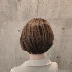 ハンサムボブ ショートボブ ショートヘア ハンサムショート ヘアスタイルや髪型の写真・画像