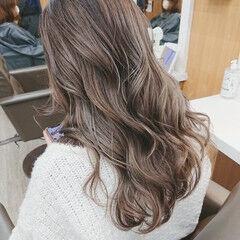 イルミナカラー ブリーチカラー ロング ストリート ヘアスタイルや髪型の写真・画像