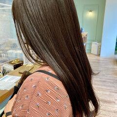 ナチュラル ロング 髪質改善トリートメント 360度どこからみても綺麗なロングヘア ヘアスタイルや髪型の写真・画像