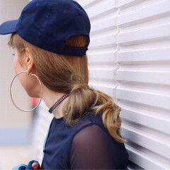 ロング ショート ヘアアレンジ 簡単ヘアアレンジ ヘアスタイルや髪型の写真・画像