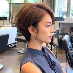田丸麻紀 ショート ナチュラル 吉瀬美智子 ヘアスタイルや髪型の写真・画像