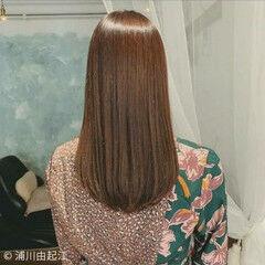 ゆるふわ セミロング 大人かわいい デートヘア ヘアスタイルや髪型の写真・画像