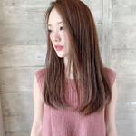 艶髪 セミロング サラサラ N.オイル
