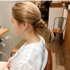 ミディアム スモーキーアッシュベージュ ストリート ショートボブ ヘアスタイルや髪型の写真・画像
