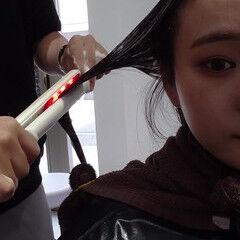 ツヤ髪 髪質改善 セミロング 透明感 ヘアスタイルや髪型の写真・画像