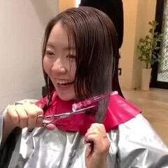 おしゃれさんと繋がりたい ヘアセット動画 大人女子 ナチュラル ヘアスタイルや髪型の写真・画像