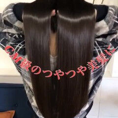 艶髪 黒髪 美髪 ヘアケア ヘアスタイルや髪型の写真・画像