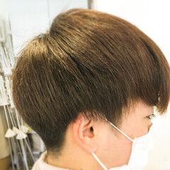 ナチュラル メンズヘア メンズマッシュ ショートマッシュ ヘアスタイルや髪型の写真・画像