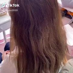 セミロング エレガント 髪質改善トリートメント 髪質改善カラー ヘアスタイルや髪型の写真・画像