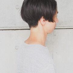 ナチュラル パーマ メンズカット 刈り上げショート ヘアスタイルや髪型の写真・画像