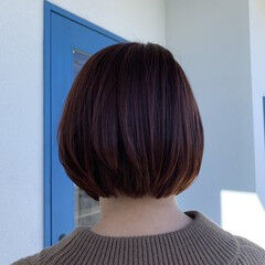 リアルサロン ヘアケア ヘアカラー トリートメント ヘアスタイルや髪型の写真・画像