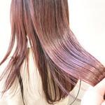 透明感カラー ピンクカラー デザインカラー ナチュラル