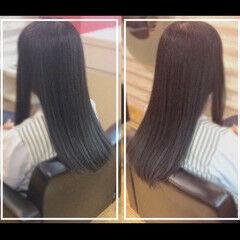 ナチュラル 髪質改善トリートメント 社会人の味方 オフィス ヘアスタイルや髪型の写真・画像