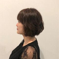 お手入れ簡単!! ゆるふわパーマ キュート ダメージレス ヘアスタイルや髪型の写真・画像