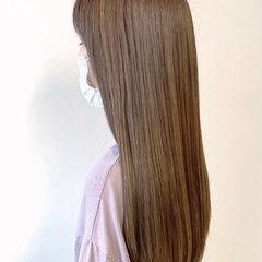ナチュラル 大人ハイライト インナーカラー 極細ハイライト ヘアスタイルや髪型の写真・画像
