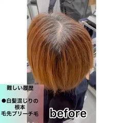 ナチュラル ピンク ヘアカラー 透明感カラー ヘアスタイルや髪型の写真・画像