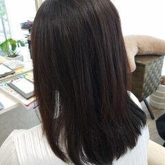 ストカール ナチュラル 艶髪 縮毛矯正名古屋市 ヘアスタイルや髪型の写真・画像