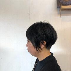 ベリーショート ナチュラル ツヤツヤ パンク ヘアスタイルや髪型の写真・画像