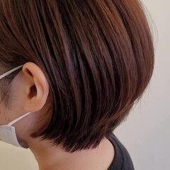 ショート ショートボブ ショートヘア コンパクトショート ヘアスタイルや髪型の写真・画像