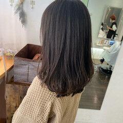 ロング ナチュラル 髪質改善トリートメント パーマスタイル ヘアスタイルや髪型の写真・画像