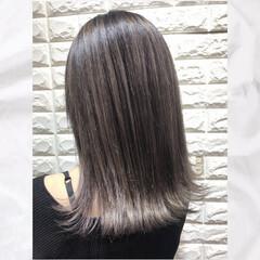 ストリート デザインカラー バレイヤージュ ハイトーン ヘアスタイルや髪型の写真・画像