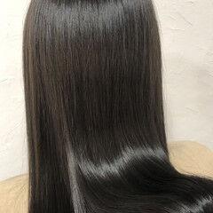 ツヤ髪 セミロング 髪質改善トリートメント n. ヘアスタイルや髪型の写真・画像