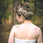 結婚式アレンジ ミディアム 結婚式髪型 結婚式ヘアアレンジ