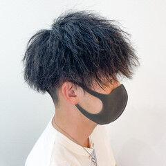 スパイラルパーマ メンズカット メンズ ストリート ヘアスタイルや髪型の写真・画像
