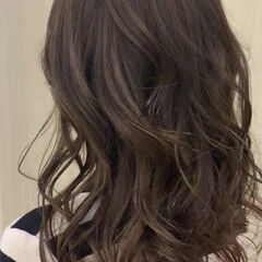 かわいい ロング デート 多毛 ヘアスタイルや髪型の写真・画像