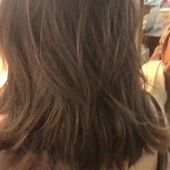 グラデーションカラー ナチュラル アッシュグラデーション ナチュラルグラデーション ヘアスタイルや髪型の写真・画像