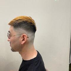 フェードカット ストリート ショート メンズスタイル ヘアスタイルや髪型の写真・画像