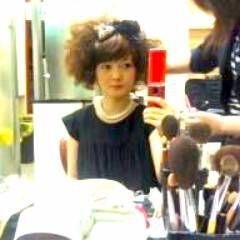 ふわふわ ヘアアレンジ コンサバ パーティ ヘアスタイルや髪型の写真・画像