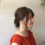 髪質改善カラー ミディアム フェミニン 髪質改善