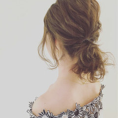 ラフ 波ウェーブ ボブ ヘアアレンジ ヘアスタイルや髪型の写真・画像