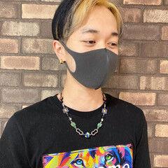 ナチュラル アディクシーカラー 韓国ヘア メンズヘア ヘアスタイルや髪型の写真・画像