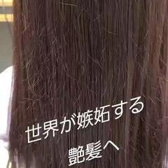 髪質改善トリートメント トリートメント 最新トリートメント 髪質改善カラー ヘアスタイルや髪型の写真・画像