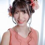 お団子アレンジ ツインテール 結婚式ヘアアレンジ ガーリー