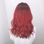 ブリーチカラー エレガント 髪質改善カラー セミロング