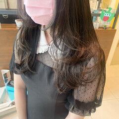 ロング ストリート ウルフ女子 ウルフカット ヘアスタイルや髪型の写真・画像