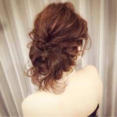 ヘアアレンジ 外国人風 スウィート 大人かわいい ヘアスタイルや髪型の写真・画像