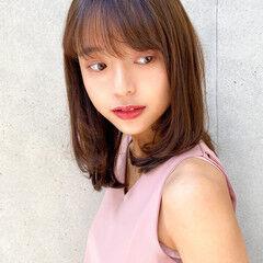 デジタルパーマ ナチュラル ゆるふわパーマ レイヤースタイル ヘアスタイルや髪型の写真・画像