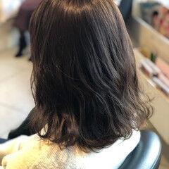 ナチュラル グレージュ 透明感カラー 冬カラー ヘアスタイルや髪型の写真・画像