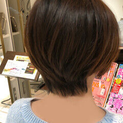 お手入れ簡単!! ナチュラル 簡単 簡単スタイリング ヘアスタイルや髪型の写真・画像