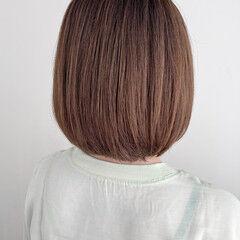 縮毛矯正ストカール 髪質改善 ボブ アンニュイほつれヘア ヘアスタイルや髪型の写真・画像