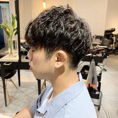 メンズパーマ メンズスタイル メンズヘア ショート ヘアスタイルや髪型の写真・画像
