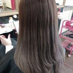 グラデーションカラー ガーリー セミロング グラデーション ヘアスタイルや髪型の写真・画像